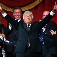 Jay Leno, the King of Late Night, gets his laugh lines at Mark Twain Prize ceremony