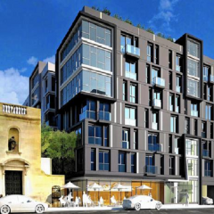 $90-million apartment complex to rise near former downtown L.A. cathedral